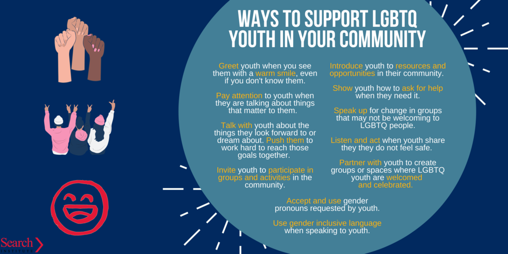 LGBTQ youth support